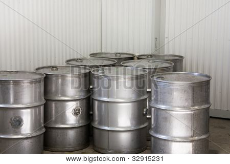 Industrial Steel drums