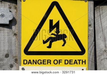 Danger Warning Sin