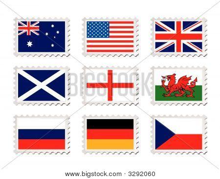 Stamp Flag