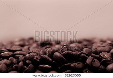 Coffee Beans Sepia