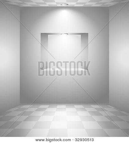 White Room With Niche