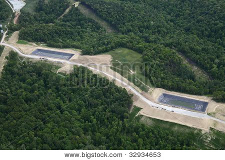 Natural Gas Frac Wells
