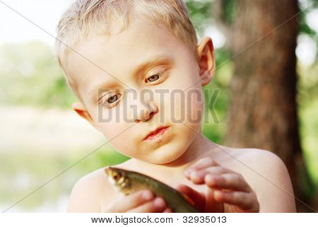 The First Fishing Catch