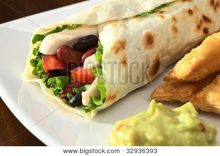 Envoltórios de Tortilla mexicana