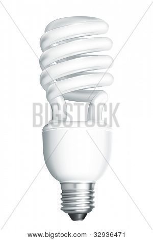 Energy saving lamp, bitmap copy