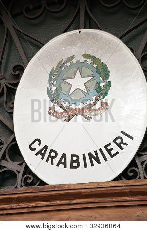 Italian Carabinieri Emblem