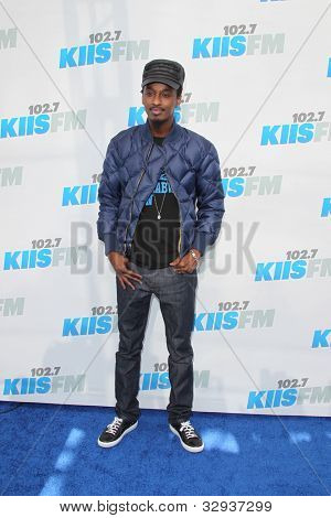 "LOS ANGELES - MAY 12:  K'Naan. arrives at the ""Wango Tango"" Concert at The Home Depot Center on May 12, 2012 in Carson, CA"
