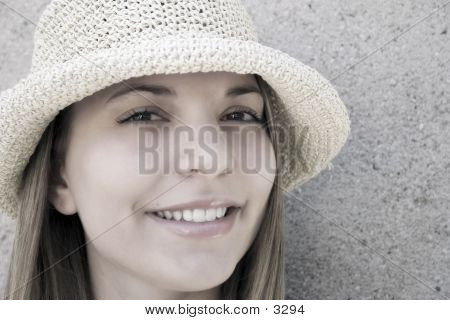 Beauty In A Hat 3