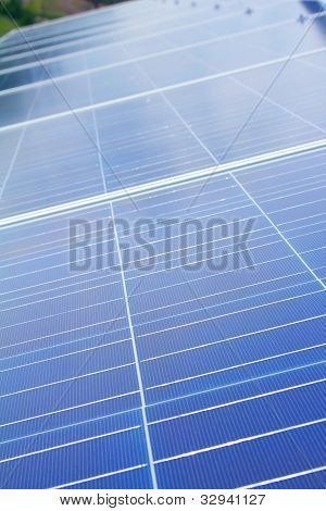 PV photovoltaic solar panel array