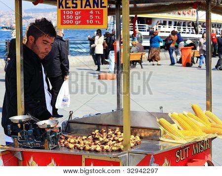 Street vendor in Istanbul