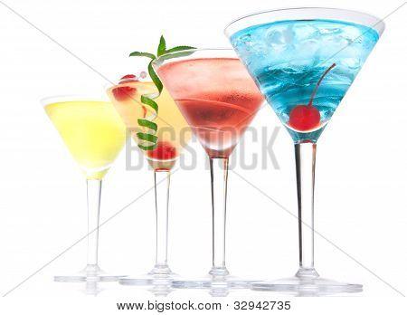 Composición popular de bebidas alcohólicas