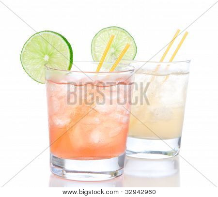 Alcohol Margarita Cocktails Or Long Island
