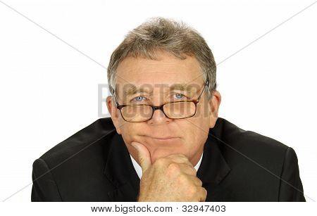 Perplexed Businessman