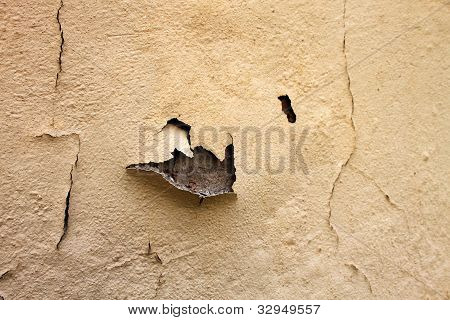 Home Repair Maintenance Water Damaged Peeling Paint