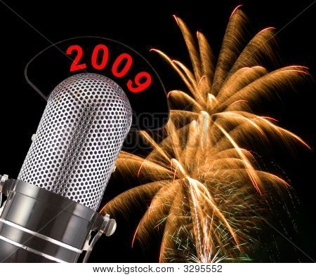 Fuegos artificiales de año nuevo 2009