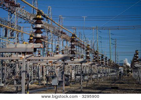 Subestación de energía eléctrica