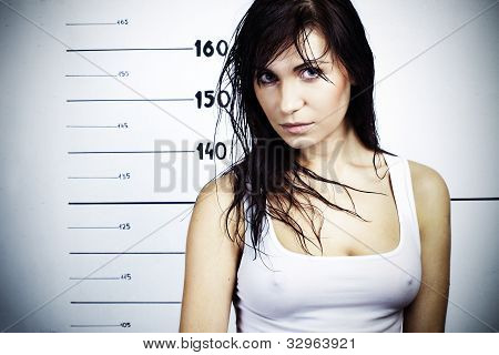 Girl In The Police Department