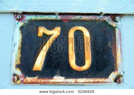 Number 70