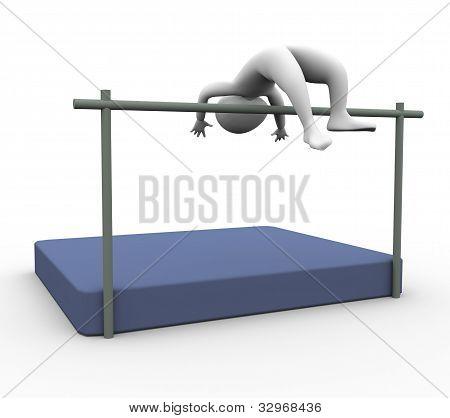 3D High Jumper