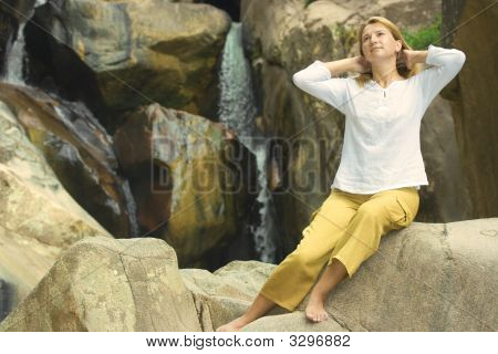 Young Woman Relaxing