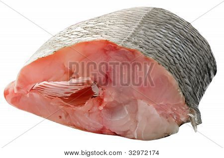 Piece Of Fresh Raw Fish