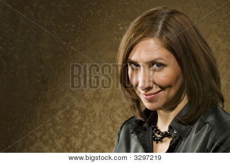 Pretty Hispanic Woman