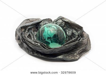Globe in plastic