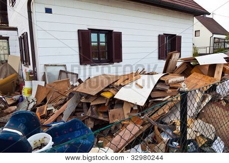 a residential building is cleared when you move.
