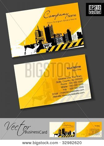Mega collection of 42 abstract professional and designer business cards or visiting cards on different topic, arrange in horizontal. EPS 10.