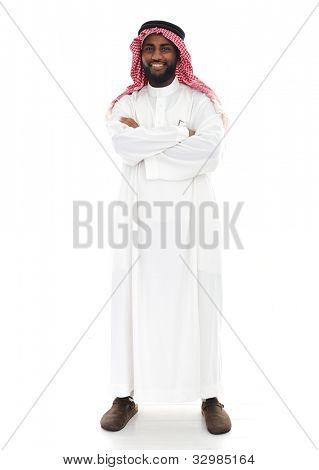 Arabische person