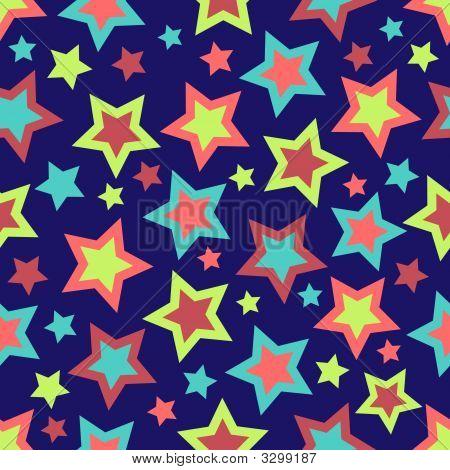 Bold Stars Background
