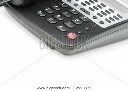 Phone Isolated On White