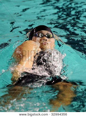 Swimmer Chan Kah Yan