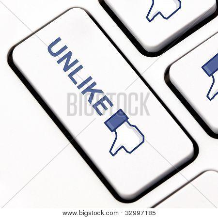 Unlike keyboard key