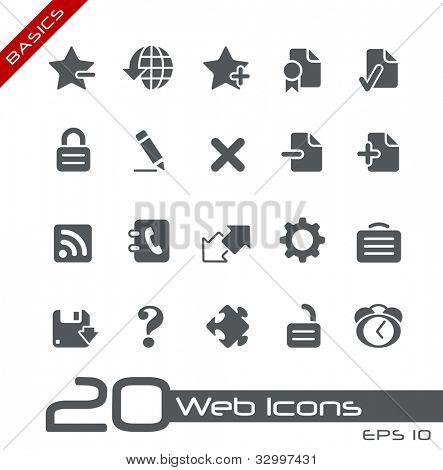 Web Icons // Basics