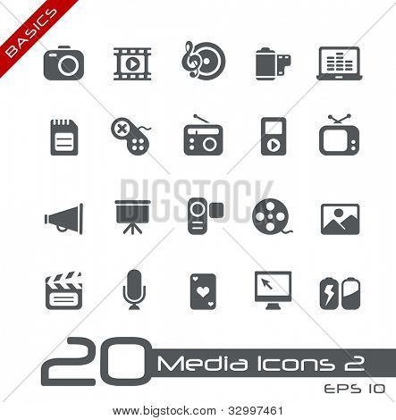 Multimedia Icons// Basics