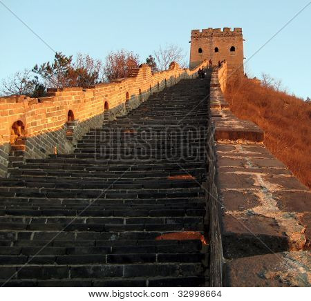Great Wall of China at Simatai