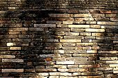 Old Brick Building Wall.