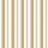 Golden Vertical Stripes Pattern. Simple Vector Seamless Texture With Thin And Thick Lines. Modern Ab poster