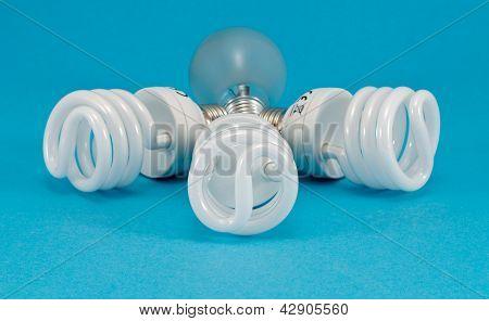 New Fluorescent Light Incandescent Heat Bulb