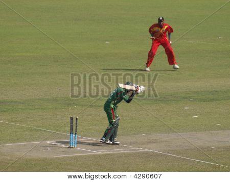 First Wicket - Bangladesh V Zimbabwe, 10Th January 2009