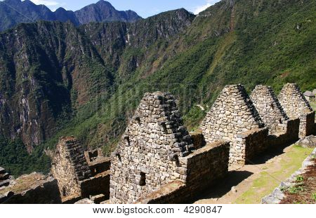 Macchu Picchu And The Sun Gate