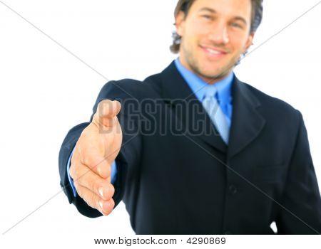 Offering Handshake