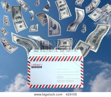 Dinheiro pelo correio