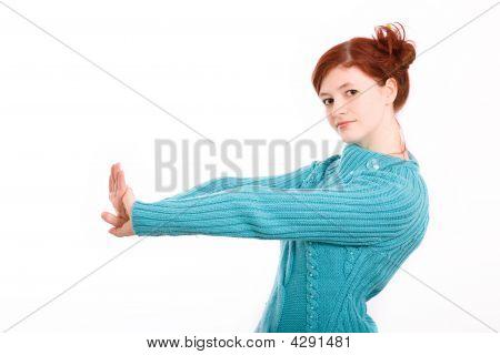 Theatrical Pose