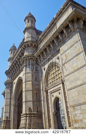 Angled View Of Gateway To India