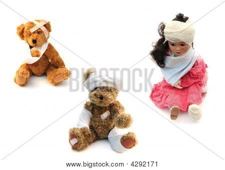 Injured Toys