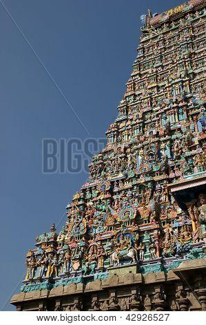 Madurai Tamil Nadu India. Meenakshi hindu temple.