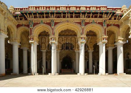 Thirumalai Nayakkar Mahal palace complex