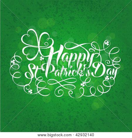 Banner de dia de Happy St. Patrick